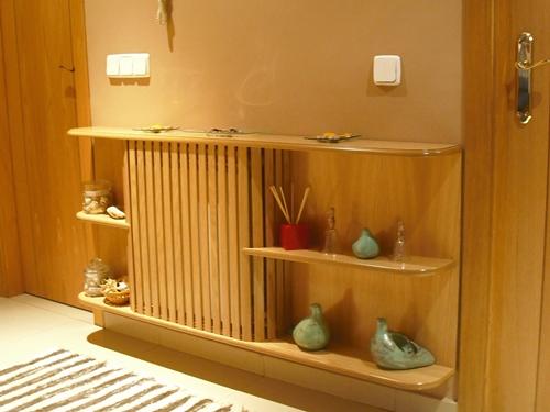 Decoracion mueble sofa cubre radiador - Cortinas encima de radiadores ...